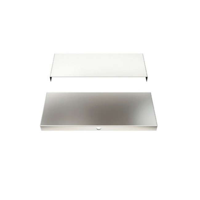Cirrus Ceiling 4 Inch Square Split Canopy  by PureEdge Lighting
