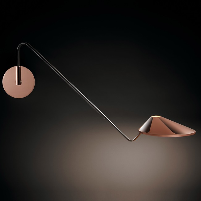 Non La 04 Swing Arm Wall Light  by Bover