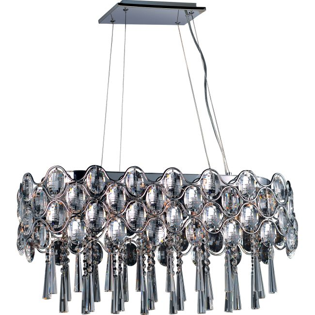 Jewel Linear Pendant by Maxim Lighting | 39926BCPC