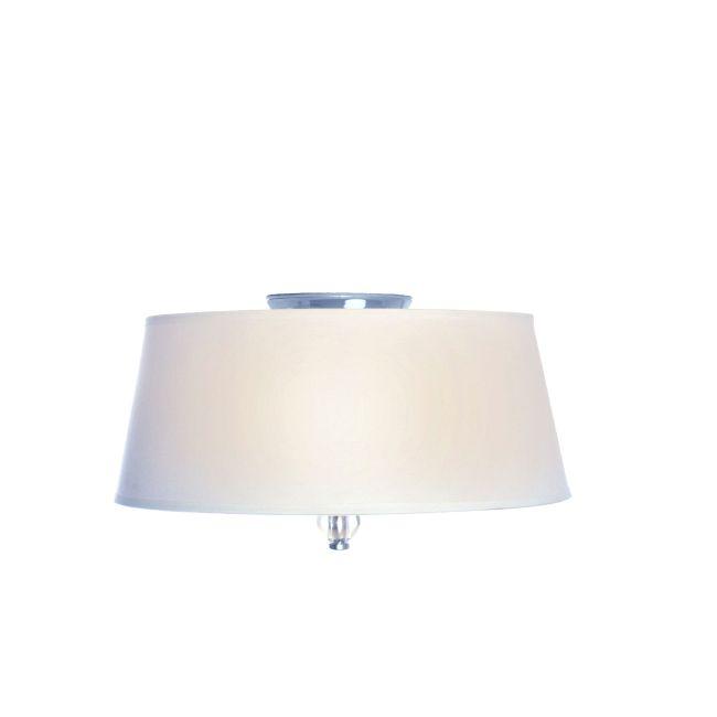 Rondo Flush Mount by Maxim Lighting | 12751WTPN