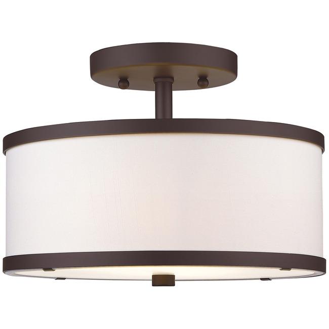 Park Ridge 11 Semi Flush Ceiling Light  by Livex Lighting