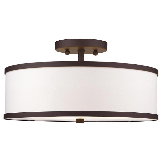 Park Ridge Semi Flush Ceiling Light  by Livex Lighting
