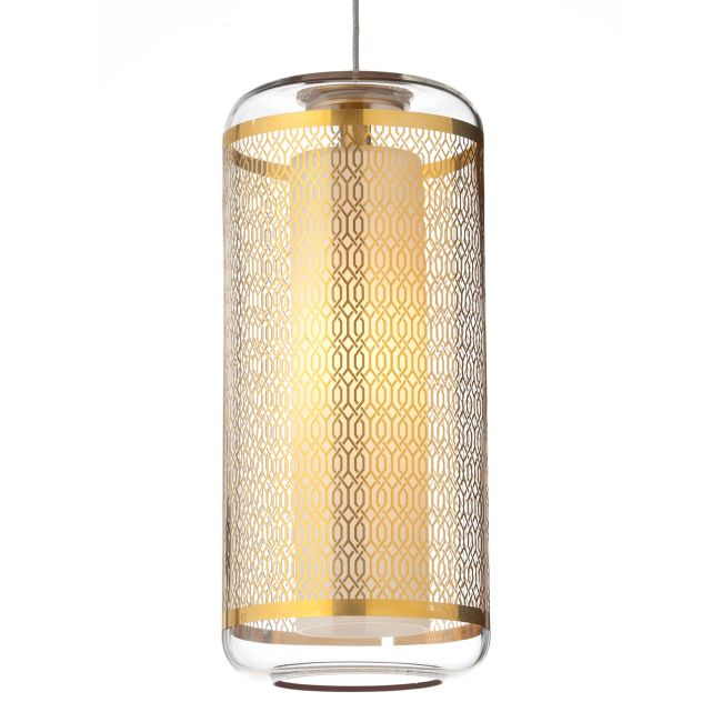 Freejack Ecran Pendant by Tech Lighting | 700FJECNCGLZ