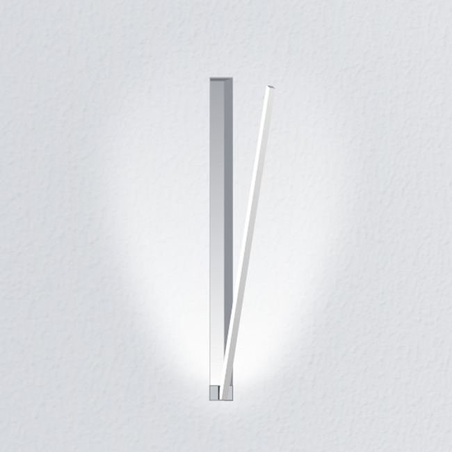 Spillo 17 Inch 1-Rod Recessed Ceiling / Wall Light  by ZANEEN design
