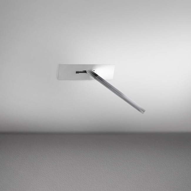 Spillo 1-Rod Semi-Recessed Ceiling / Wall Rectangle Canopy  by ZANEEN design