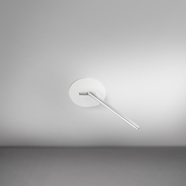 Spillo 1-Rod Semi-Recessed Ceiling / Wall Round Canopy  by ZANEEN design