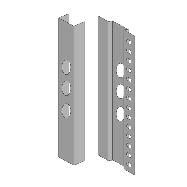 Spillo 21IN 1-Rod Recessed Spillo Masonry Housing Accessory  by ZANEEN design