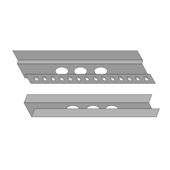 Spillo 9IN 5-Rod Semi-Recessed Plasterboard Hsg Accessory  by ZANEEN design