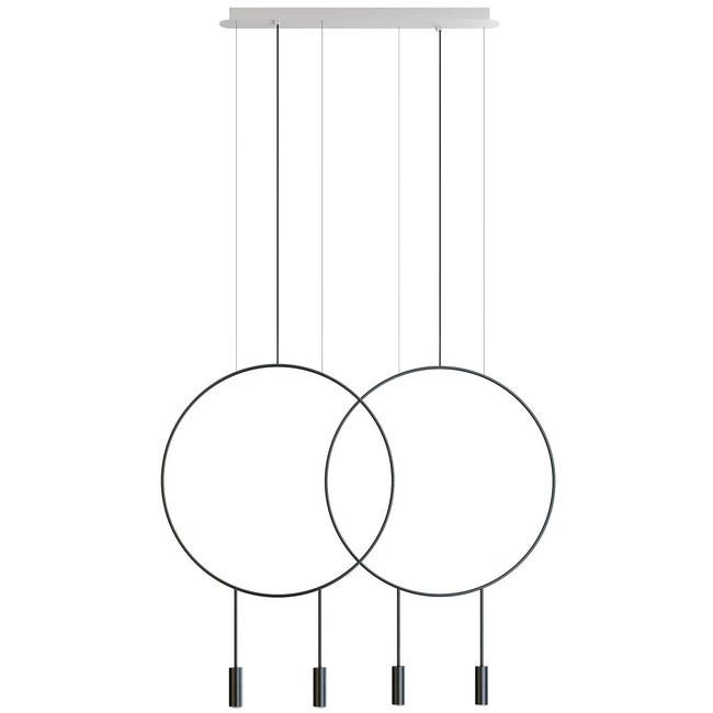 Revolta L73.2D Linear Pendant  by Estiluz