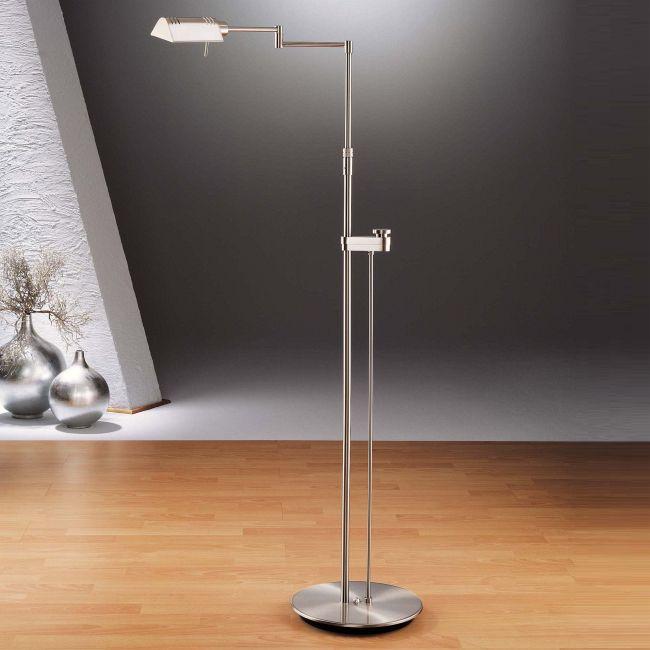 6317 Side Line Dimmer Reading Floor Lamp by Holtkoetter   6317SLD-SN