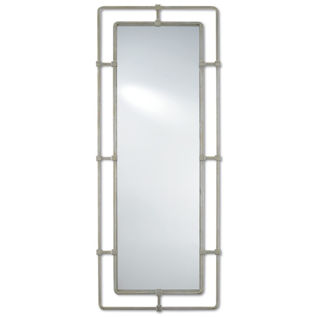 Metro Rectangular Mirror  by Currey and Company