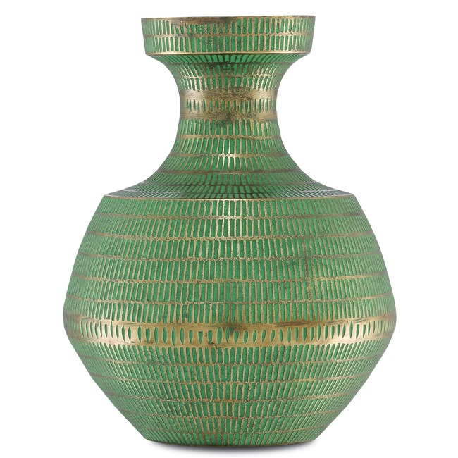 Nallan Vase  by Currey and Company