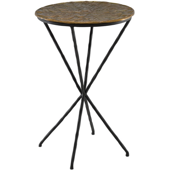 Figuier Drinks Table  by Currey and Company