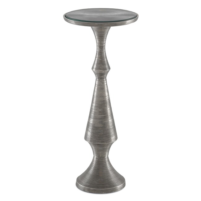 Baines Side Table  by Currey and Company
