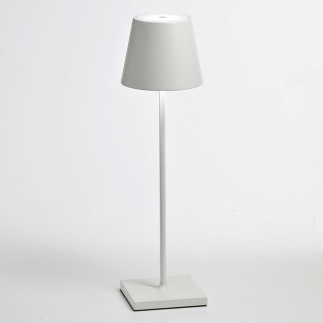 Poldina Rechargeable Table Lamp  by Zafferano America