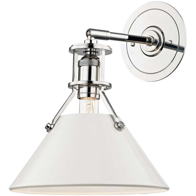 Painted No.2 Wall Light  by Hudson Valley Lighting