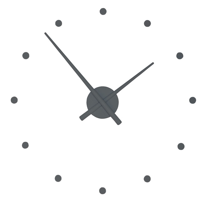 Oj Wall Clock  by Nomon