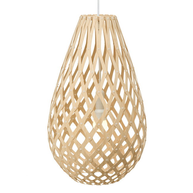 Koura Pendant by David Trubridge | KOU-1000-NAT-NAT