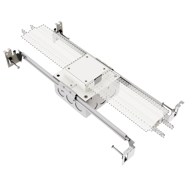 TruTrack Center Dual Power Feed  by PureEdge Lighting