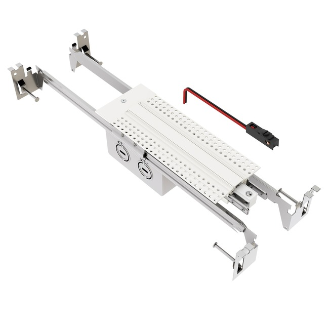 TruTrack End Power Feed with Junction Box  by PureEdge Lighting
