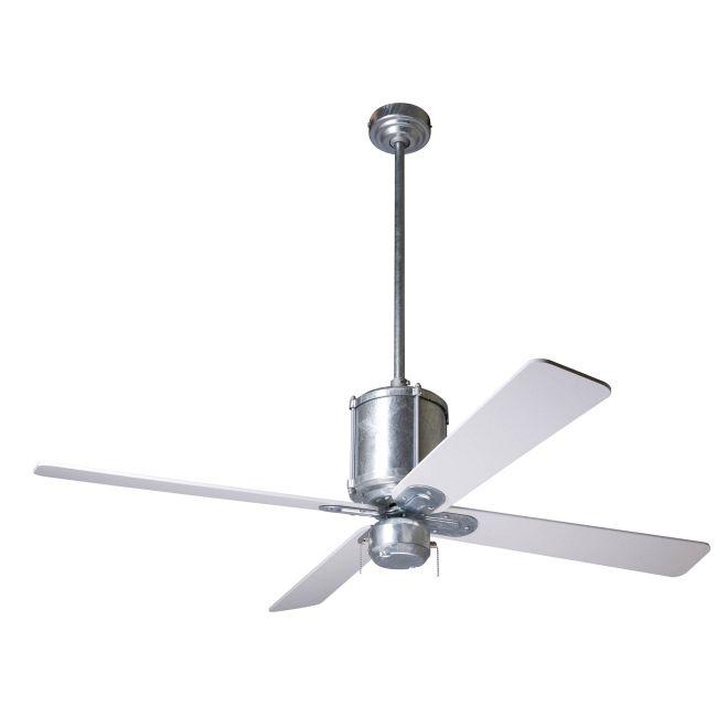 Industry Ceiling Fan by Modern Fan Co. | IND-GV-50-WH-NL-003