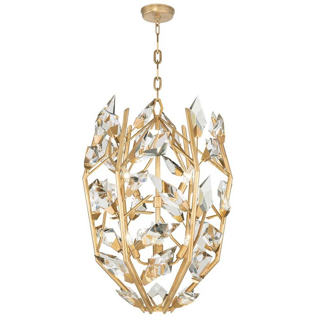 Foret Cage Pendant  by Fine Art Handcrafted Lighting