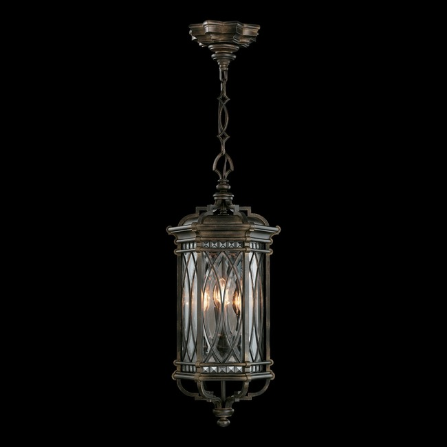 Warwickshire Large Outdoor Pendant  by Fine Art Lamps