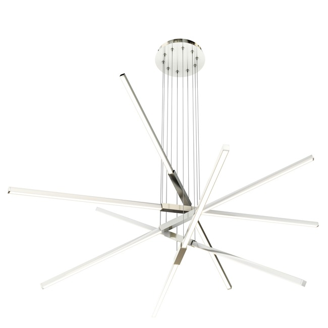 Pix Sticks Tie Stix Metal Suspension with Power  by PureEdge Lighting