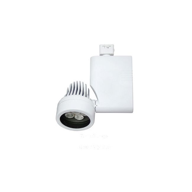 CTL8029L 27W 3000K Spot LED Non-Dimmable Optica Track Fixtur by ConTech | CTL802927LS3-P