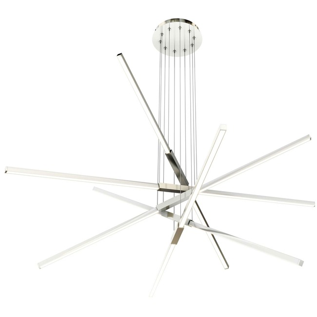 Pix Sticks Tie Stix Metal Warm Dim Suspension with Power  by PureEdge Lighting