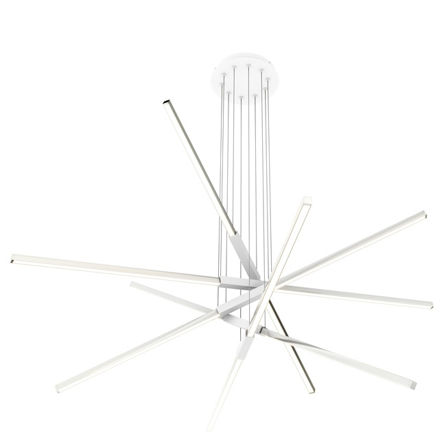 Pix Sticks Tie Stix Metal Suspension with Remote Power  by PureEdge Lighting