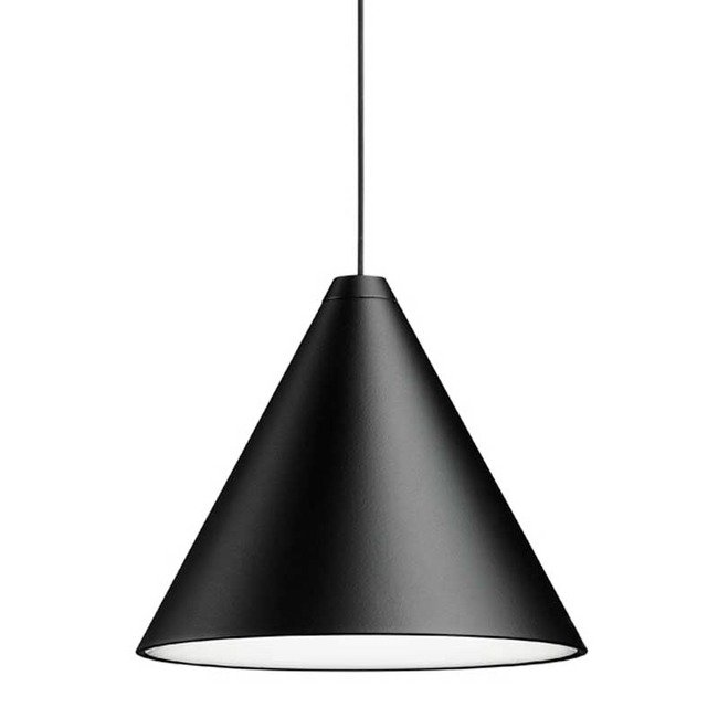 String Lights Cone Pendant with Base  by Flos Lighting