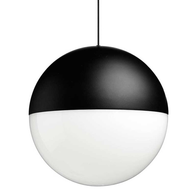 String Lights Round Pendant with Base  by Flos Lighting