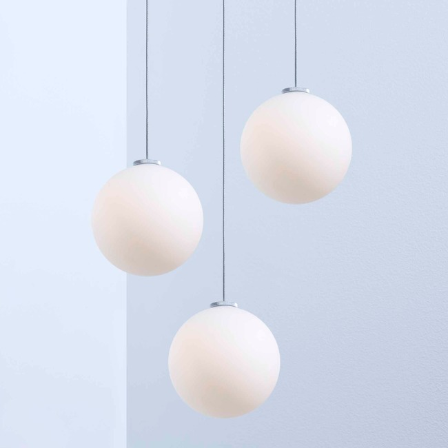 Glass 120 Multi Light Pendant  by Anony
