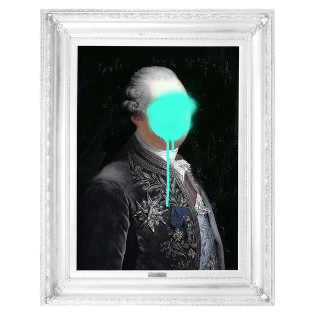Monsieur Mint Canvas  by Mineheart