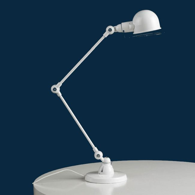 Pepe Desk Lamp by Lightology Collection | LC-PEPE-T-WH