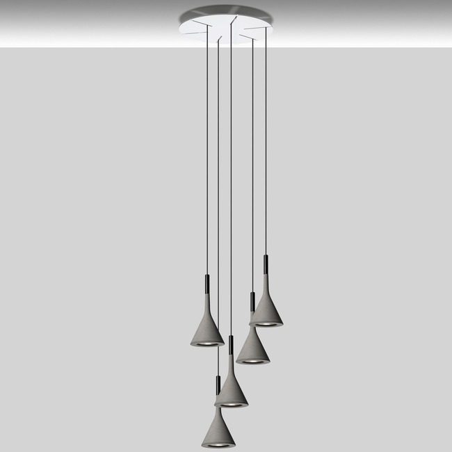 Aplomb Round Multi Light Pendant  by Foscarini