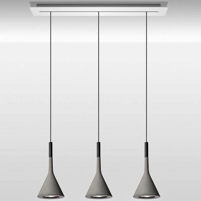 Aplomb Linear Multi Light Pendant  by Foscarini