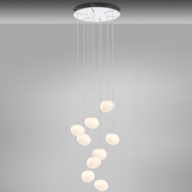 Gregg Piccola Round Multi Light Pendant  by Foscarini