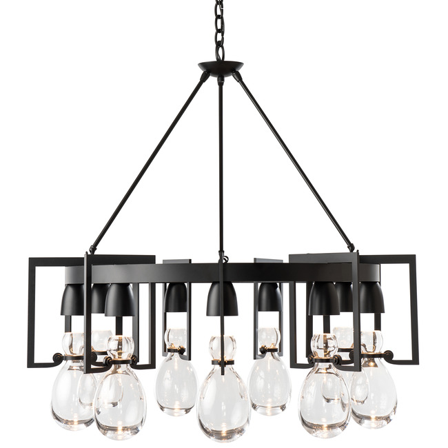 Apothecary Circular Chandelier  by Hubbardton Forge