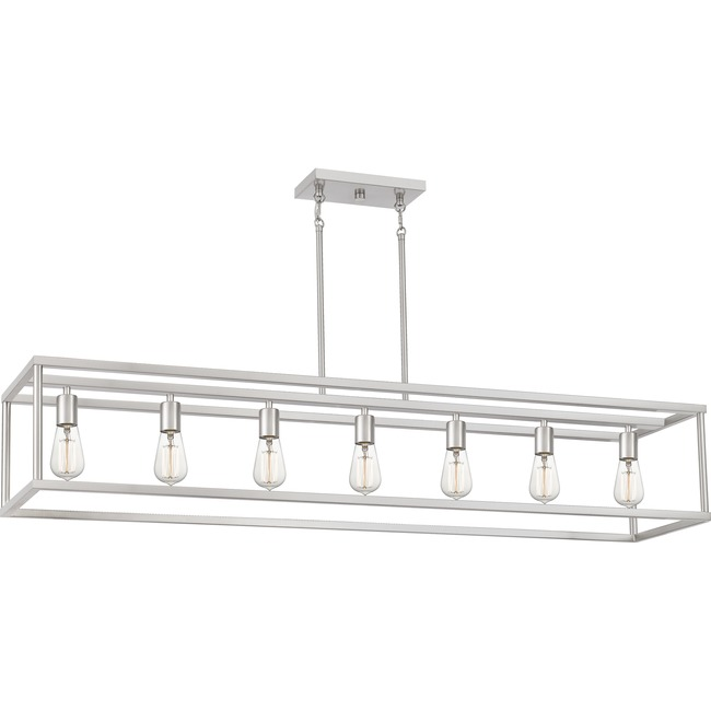 New Harbor Linear Chandelier  by Quoizel