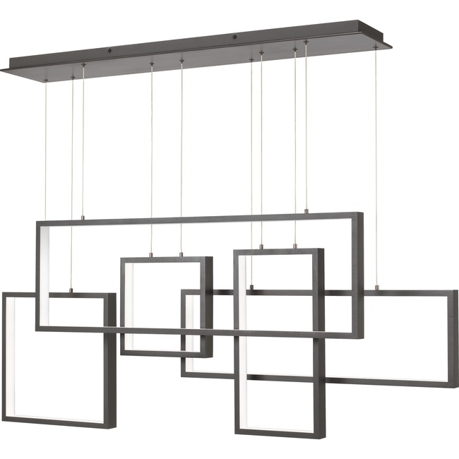 Canvas Linear Chandelier  by Quoizel