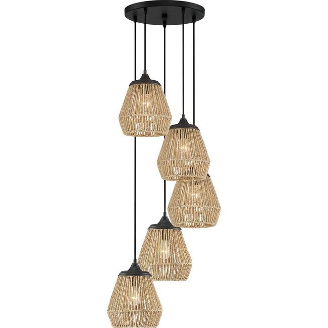 Romain Multi Light Pendant  by Quoizel