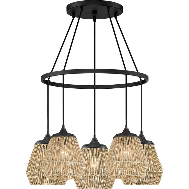 Romain Ring Chandelier  by Quoizel