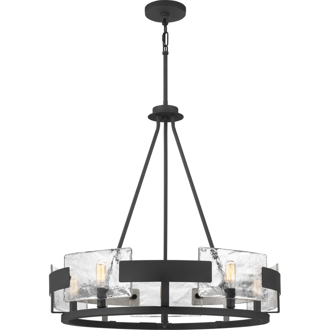 Stratum Chandelier  by Quoizel