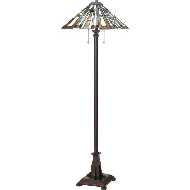 Maybeck Floor Lamp  by Quoizel