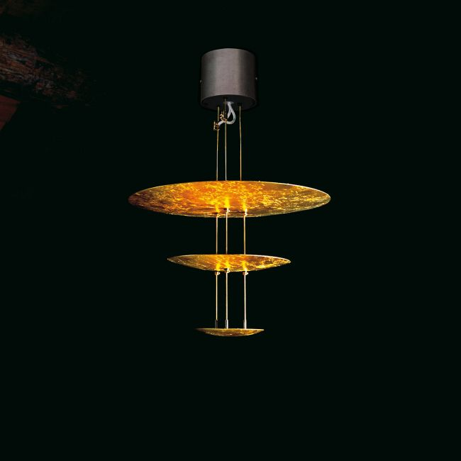Macchina Della Luce Three Tier Pendant by Catellani & Smith | LC-ME