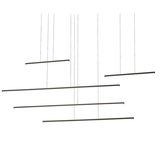 Chute Motion Multi Light Pendant  by Kuzco Lighting