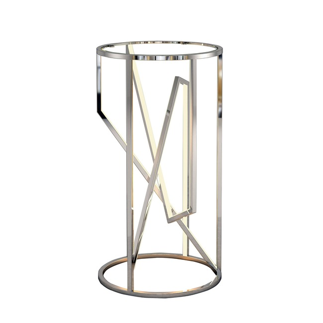 Trapezoid LED Accent Table  by Et2