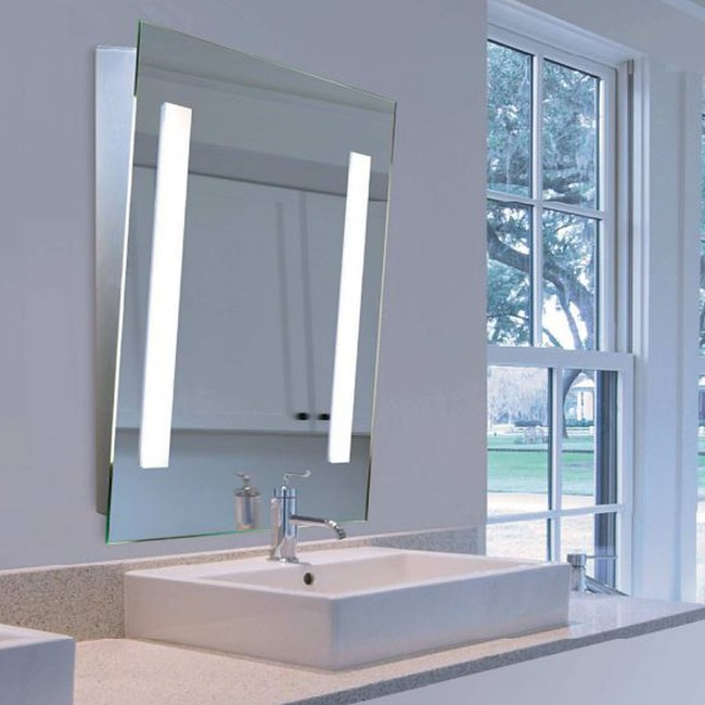 Mirror-Lux LED Angled Mirror  by Aamsco
